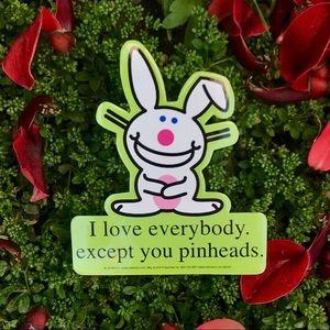 Accessories - 3 HAPPY BUNNY Stickers ✨